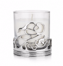 Swirl Holder with Candle
